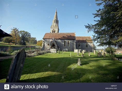 saint mark s church englefield berkshire stock photo st mark s church in englefield berkshire which is