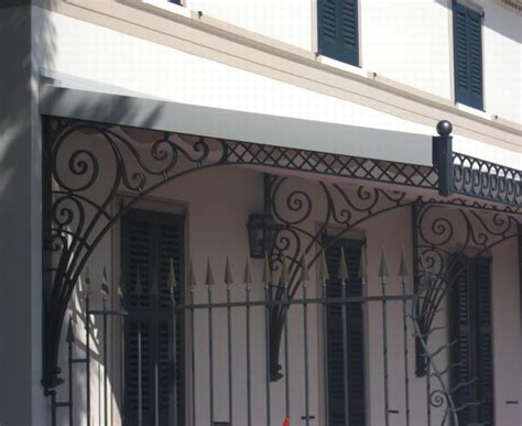 wrought iron awnings wrought iron awning sezione furnishing accessories
