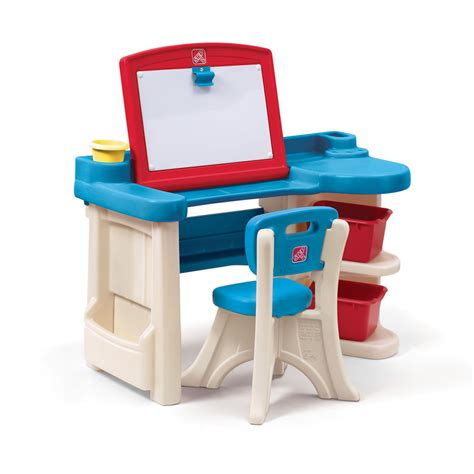 kids art desk step2 studio art desk chair kids table toddler furniture