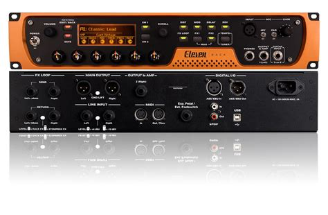 Recording With Eleven Rack by