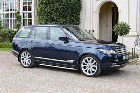 blue range rover vogue wedding cars chauffeur driven fourth