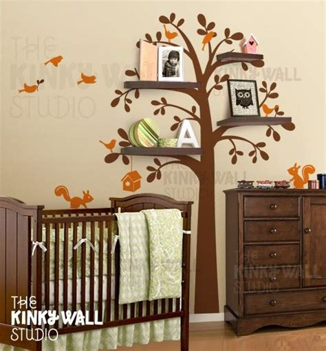 Brown Tree Wall Decal Nursery I M Designing Nursery Around This Wall Decal Except It Will Be Brown Pink S
