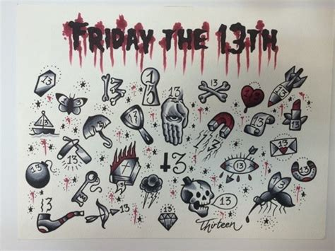 tattoo prices on friday the 13th celebrate friday the 13th with 13 tats features