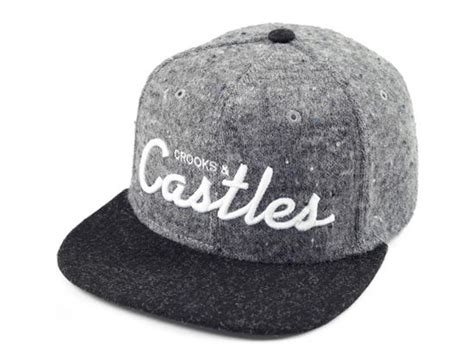 Black Grey Snapback By Snaplus team castles grey snapback cap by crooks and castles