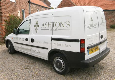website design for ashton s of york affordable web design van graphics and vehicle livery designers in york