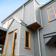Modern Wood Siding Exterior Contemporary With Black Trim Black Window » Ideas Home Design
