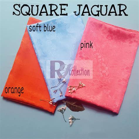 Square Segiempat Jaguar Silk 03 30 16 zero2fifty