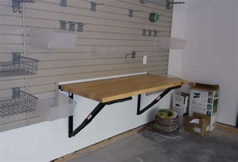 bench solution garage storage