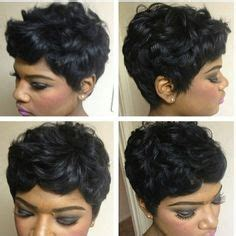 short haircuts for black women without relaxer loose pin curls short haircut stylists pin curls and