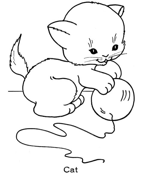 cat with kittens coloring page free printable cat coloring pages for kids