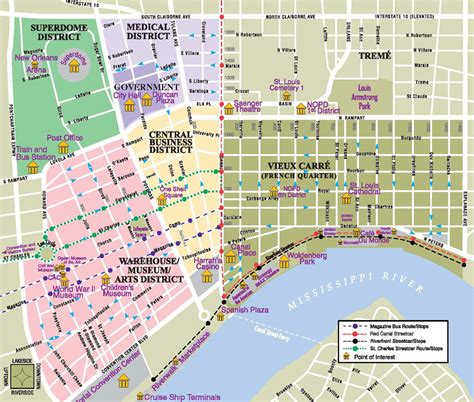 map new orleans downtown new orleans map jpg