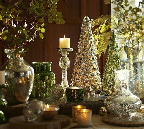 christmas decorating with mercury glass mercury glass