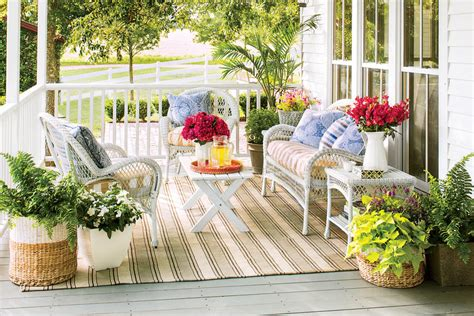 Colorful Front Porches colorful porch porch and patio design inspiration southern living