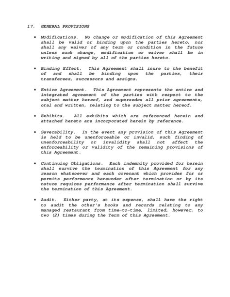 Management Agreement Sle Political Caign Manager Contract Template