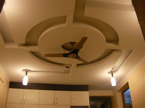 False Ceiling Design For Living Room With Two Fans Ceiling Fans For Living Room