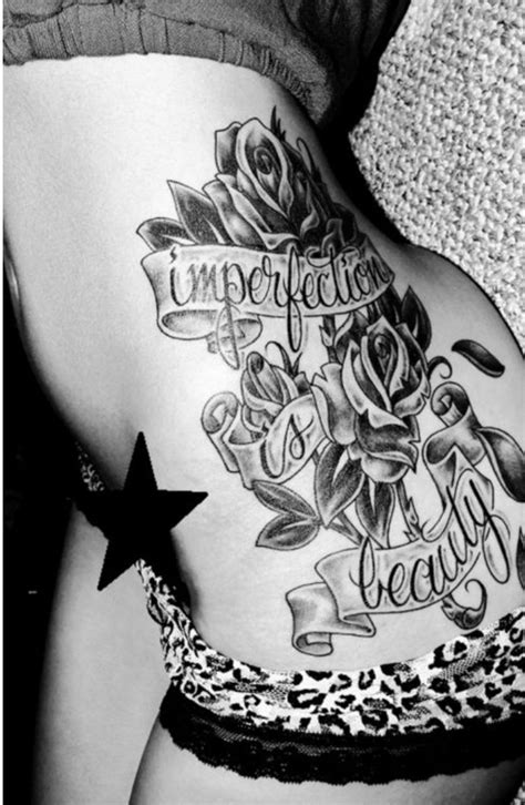 rose tattoo on side of body 17 best ideas about side tattoos on side