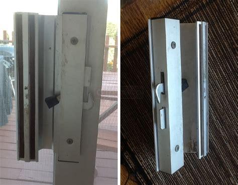 sliding glass patio door lock sliding glass door lock swisco