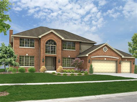 big 2 story houses 71 orland park home builders the kanton model