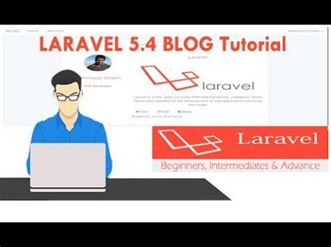 tutorial laravel 5 4 laravel 5 4 blog tutorial part 7 creating user profile