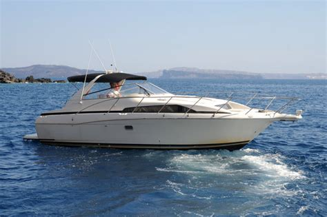 captain panos and boat picture of alex private boat - Alex Private Boat Rental Fira Greece