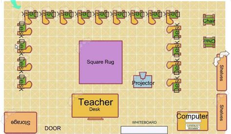 high school classroom layout design week 5 portfolio entry classroom design educational