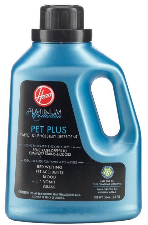 Hoover Pet Plus Carpet And Upholstery Detergent by Hoover Pet Plus Carpet And Upholstery Detergent Msds