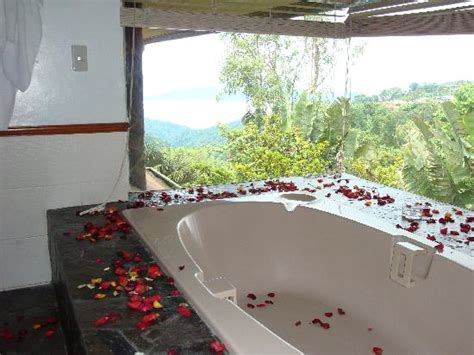 hotels in tagaytay with bathtub the tub with the rose petals scattered about picture of