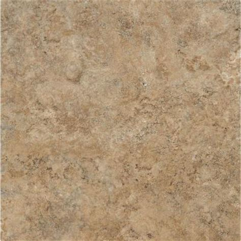armstrong ceraroma 16 in x 16 in caramel sand groutable vinyl tile 24 89 sq ft case