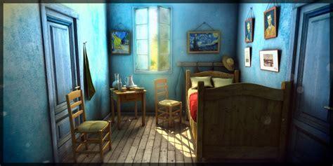 Gogh Inspired Bedroom Spotlight Gogh Room Sketchfab