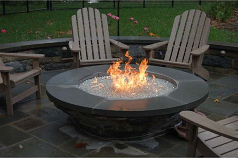Gas Firepits Gas Pit Ideas For Comfortable Backyard Sitting Area Home Furniture