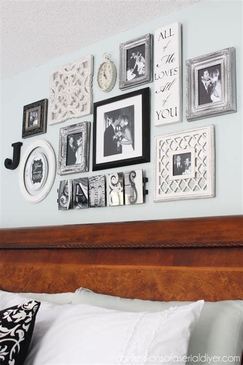 Master Bedroom Gallery Wall Ideas Provincial Chest Update Confessions Of A Serial