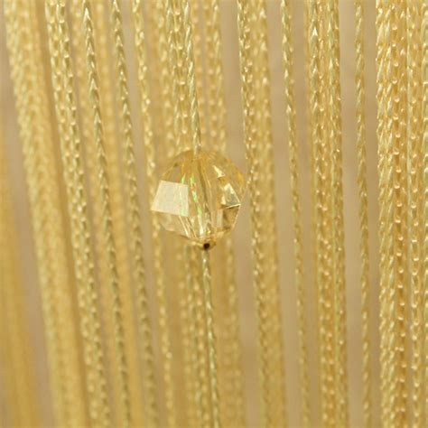 decorative on a string decor beaded curtain divider decorative string