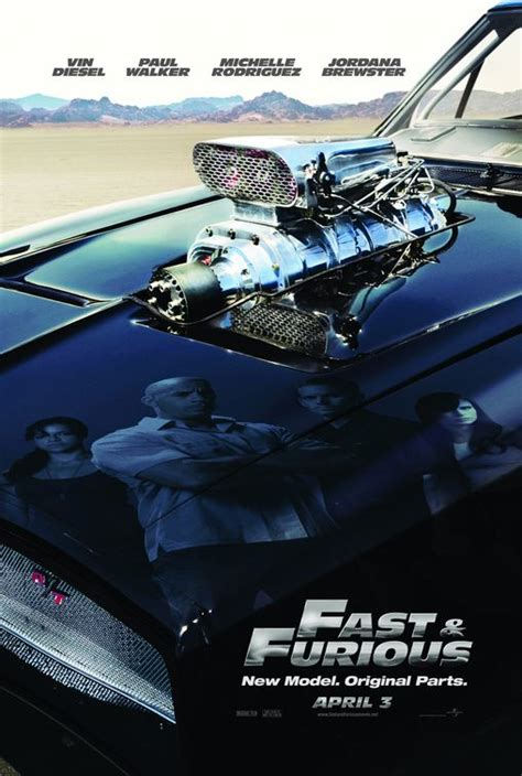 fast and furious new model original parts fast furious movie poster 1 of 7 imp awards