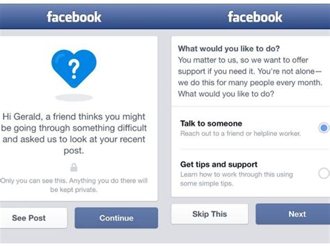 fb help facebook to help in suicide prevention through ai pattern