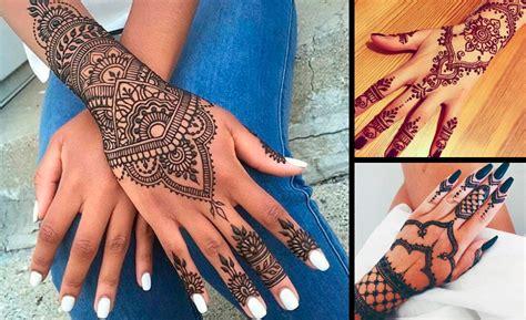 imagenes de tatuajes de jena las 5 partes de tu cuerpo que necesitan tatuajes de henna