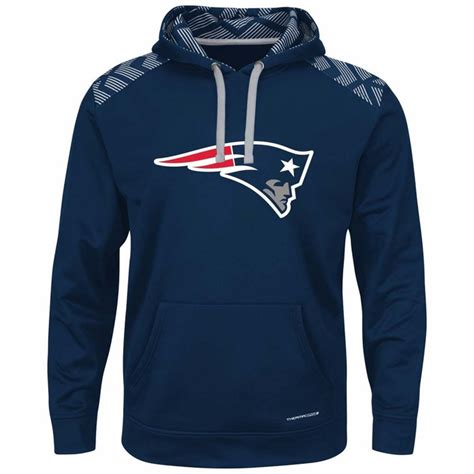 Hoodie Patriots new patriots majestic armor s pullover hooded