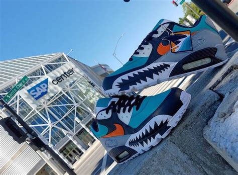 running shoes san jose custom nikes for every san jose sharks fan