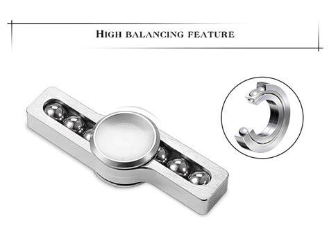 Fidget Spinner Stainless Steel 2 Gold fidget spinner metal steel silver