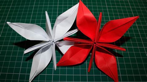 Flores De Origami - como fazer uma flor de papel origami
