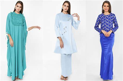 Baju Kurung Moden Warna Biru Turquoise baju kurung warna turquoise suntikan elemen moden pada gaya tradisi media permata