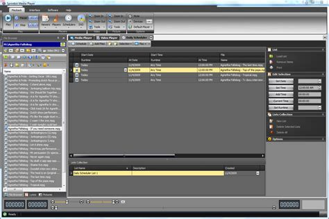 Multimedia Player sprintbit software multimedia player playback scheduling