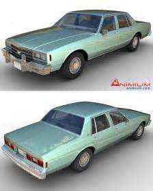 Chevrolet 1984 Models Chevrolet Impala 1984 3d Model Free 3d Models