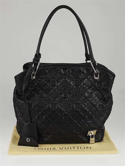 Louis Vuitton Leather louis vuitton black monogram antheia leather lilia pm bag