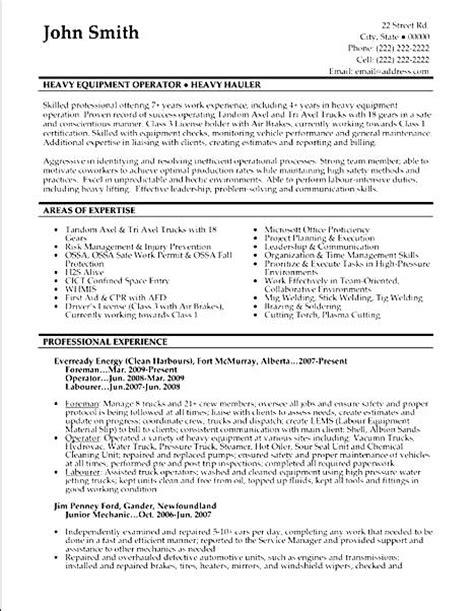 Machine Operator Resume by Machine Operator Resume Sle Free Sles Exles