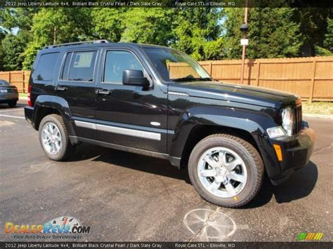 2012 Jeep Liberty Latitude 2012 Jeep Liberty Latitude 4x4 Brilliant Black