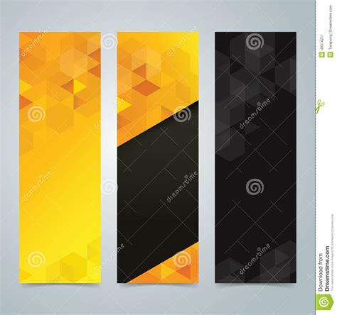 design background x banner collection banner design yellow and black background