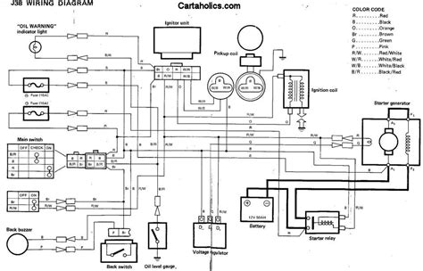 yamaha gas golf cart wiring diagram gas free