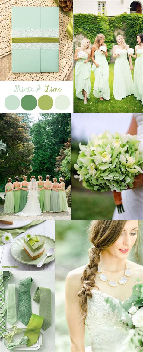 gorgeous mint invitation inspired wedding color combo