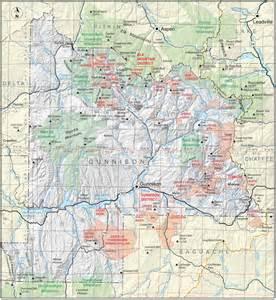 map of gunnison colorado gunnison county colorado geological survey