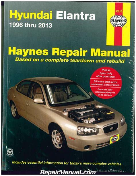 car repair manual download 1999 hyundai elantra parking system haynes hyundai elantra 1996 2013 auto repair manual